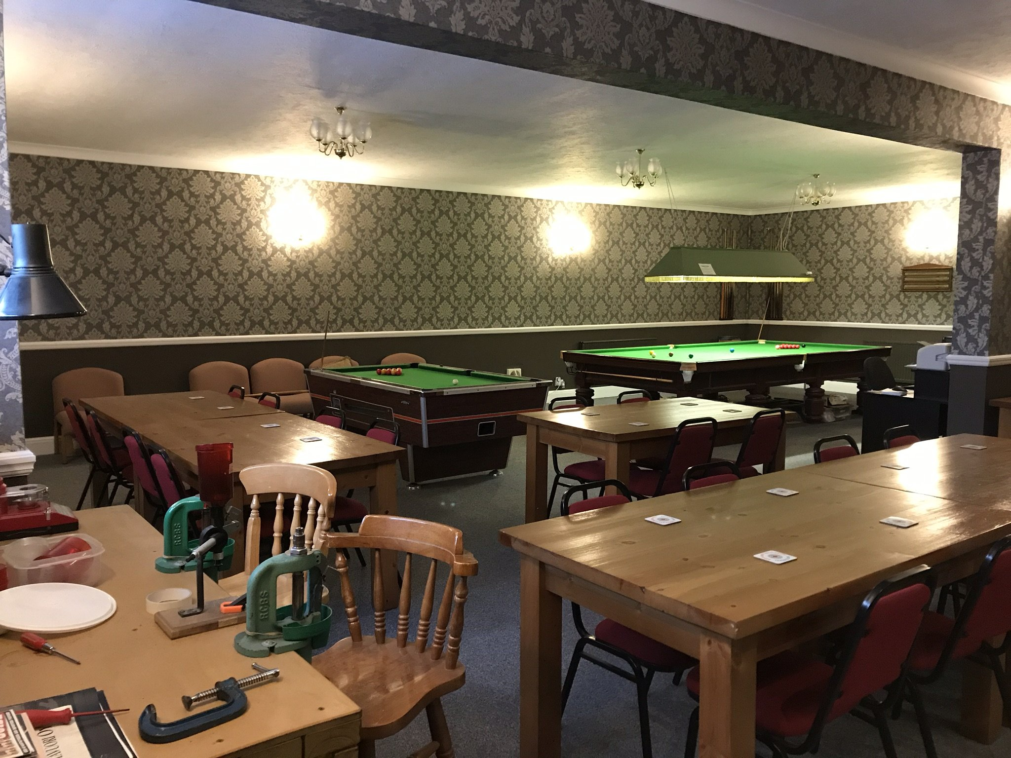 NE Lincs Target Club bar and members area