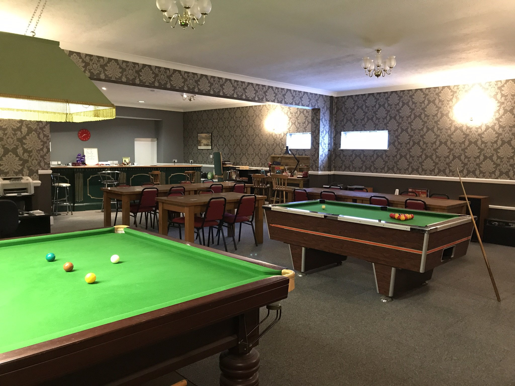 NE Lincs Target Club members lounge and bar